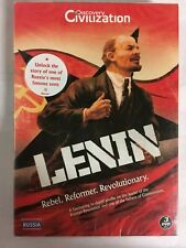 Lenin - Rebel. Reformer. Revolutionary (DVD, 3-Disc Set) NEW & Sealed L7