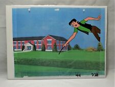 The Archies Original Production Animation Cel & Background Of Jughead Jones #7