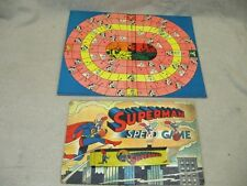 1940 Superman Speed Game 4848 by Milton Bradley Near Complete