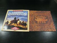 Marlboro Cowboy Chronicles 2002 & Marlboro Gear 2004 Booklets - Nice Shape SAVE!