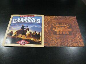 Marlboro Cowboy Chronicles 2002 & Marlboro Gear 2004 Booklets - Nice Shape SAVE!