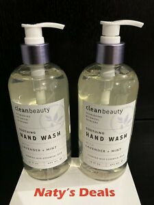 Lavender & Mint Soothing Hand Wash with Essential Oils (Lot of 2) 16 0z Each