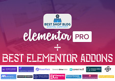 Elementor PRO + Huge Collection of Premium Addons & Templates | WordPress Plugin