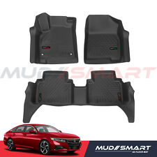 MudSmart 5D Floor Mats For 2018-2020 Honda Accord All Weather High Quality