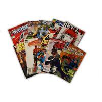 10 Comic Book bundle lot with  10 Random Marvel Superhero Comic Collection with