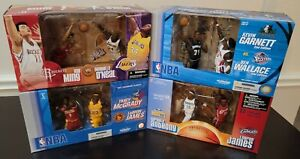 McFarlane Sportspicks NBA 2 Pack Lot of 4 James Anthony O'Neal Garnett [NEW]