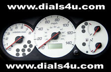HONDA CIVIC 7th Generation EM MODELS (2001-2005) - 140mph WHITE DIAL KIT