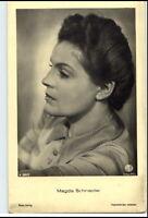 ~ 1940/50 Porträt-AK Film Bühne Theater Schauspielerin MAGDA SCHEINDER Foto-AK