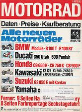 Motorrad 19 78 Kramer LR400 Suzuki GT250 X7 Vespa P200E Harley-Davidson 75 1978