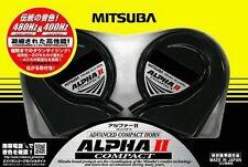 Mitsuba Hos-04G Mitsuba San Kowa Alpha Ii Compact Car Horn New Japanese