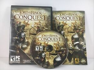 Lord of the Rings: Conquest (PC, 2009) - CIB Complete in Box with KEY - EA