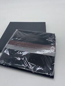 Silk Pocket Square Black Men's Black New