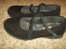 Skechers Mary Jane Black 49405W Womens Size 9.5W