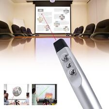 USB Presenter Powerpoint Wireless Presentation Remote Clicker Laser Pointer PPT