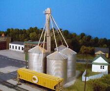 Rix Products 628-0407 HO 4 Silo 90' Grain Elevator Building Kit