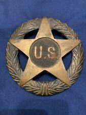 US Grave Marker/Flag Holder, ESTATE Sale Find. Vintage US Military WW1 WW2 RARE