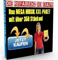MEGA MUSIK PAKET XXL mit 350 TRACKS INSTRUMENTALS Samples POP Musik Clip NEU PLR