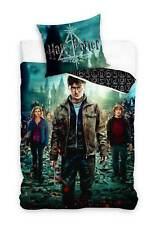 Harry Potter Bettwäsche-Set 135x200 Baumwolle Wendebettwäsche Bettbezug Bettware