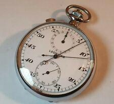 LEONIDAS Stopwatch Split Second old Heuer