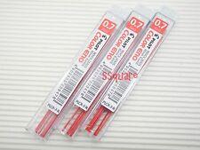 6 Tubes x Pilot PLCR-7 Color Eno 0.7mm Mechanical Pencil Leads, Red
