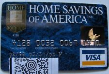 Expired in 2000 Home Savings of  America Bank Card (A109)