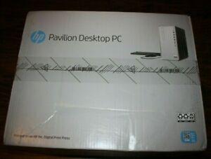 New HP Pavilion Desktop Tp01-1023w Intel Core i5 8GB DDR4, 256GB SSD Windows 10