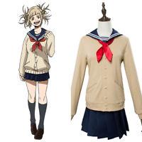 My Hero Academia Himiko Toga JK Sailor Outfit School Uniform Cosplay Costume