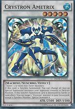 YU-GI-OH SUPER RARE CARD: CRYSTRON AMETRIX - INOV-EN045