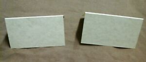 BLANK PLACE CARDS  (Use for any occasion)  x 50       Cream colour