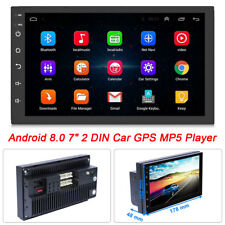 Android 8.0 2DIN Car RadioI GPS WIF Audio Video Stereo Car Multimedia MP5 Player