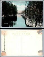 CANADA Postcard - Kipawa Lake, Natural Canal, CPR AK