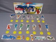 Batman and Robin BATCAVE WAYNE MANOR GOTHAM MUSEUM Playset Vintage 1973 IDEAL