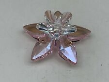 Swarovski Figurine Flower 4,5 CM Ø. Top Condition