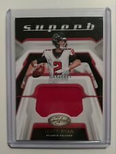 🔥2019 Certified Superb MATT RYAN PLAYER WORN MATERAIL #SU-MR 82/299 FALCONS