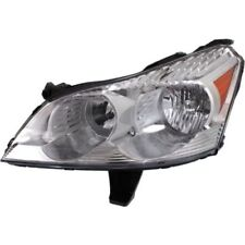 For Traverse 09-12, Driver Side Headlight, Clear Lens; Chrome Interior