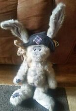 Bearington Collection - 16'' Plush Bunny Rags & Bags