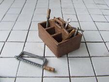 Werkzeugbox  für Werkstatt oder Tankstelle, Automodellbau-Zubehör,Maßstab 1:18