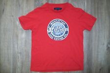 Tommy Hilfiger-boys red cotton t-shirt.4/5y.Worn once.