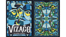 VIZAGO LUMINO - poker playing cards deck - mazzo carte da gioco magia