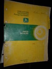 John Deere ensileuse 5440 & 5460 : parts catalog