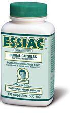 Essiac Herbal extract 60 capsules immune body detox  護士茶 液體 體內排毒