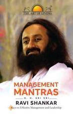 Management Mantras by Sri Sri Ravi Shankar (2014, Paperback)
