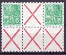 DDR ZD Mi.-Nr. WZ 5  postfrisch ** mit Dreierstreifen Andreaskreuz (K01-0197)