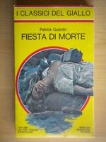 Fiesta di morteQuentin PatrickMondadori1980i classici del giallo354222