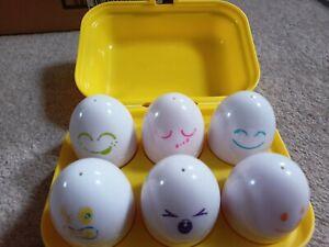 TOMY Roomies Hide And Squeak Eggs
