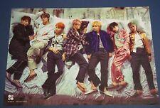 BTS Bangtan Boys - Wings 2nd Album Unfolded Poster HARD TUBE CASE