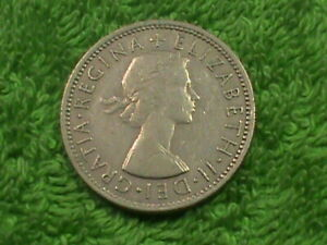 GREAT  BRITAIN   2 Shillings   1965  *