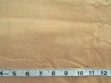 New listing 1 3/8 yd Corduroy Fabric Light Tan