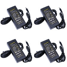 4X Power Supply Adapter AC 100-240V to DC12V 6A With US Power Cord for LED CCTV