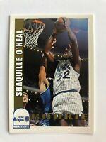 1992-1993 Hoops SHAQUILLE O'NEAL Orlando Magic NBA Basketball Rookie Card #442